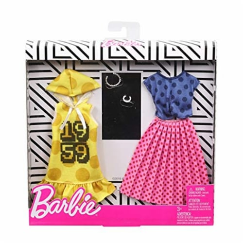 Mattel Barbie® Polka Dot Clothes Playset Perspective: back
