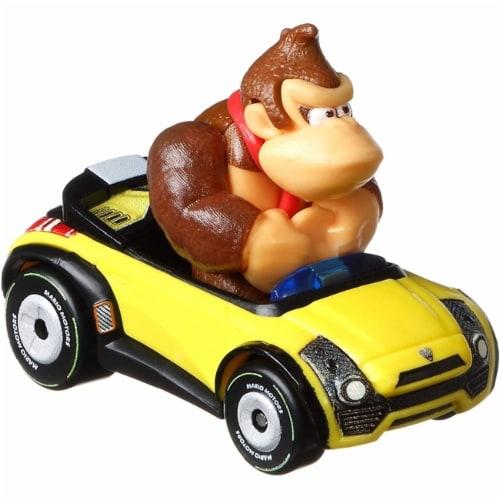 Mattel Hot Wheels® Mario Kart Donkey Kong Sports Coupe Toy Car Perspective: back