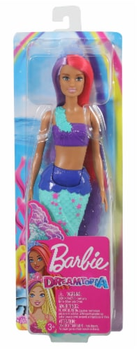 Mattel Barbie® Dreamtopia Surprise Mermaid Doll - Assorted Perspective: back