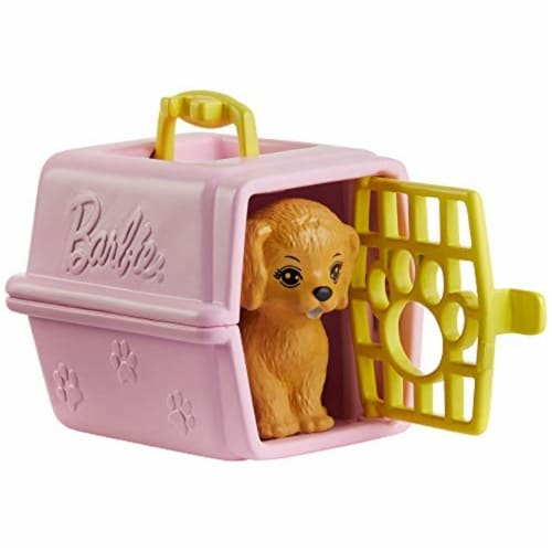 Mattel Barbie® Career Places Pet Vet Office Playset Perspective: back