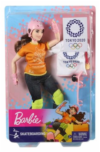 Mattel Barbie® Skateboarder Doll Set Perspective: back