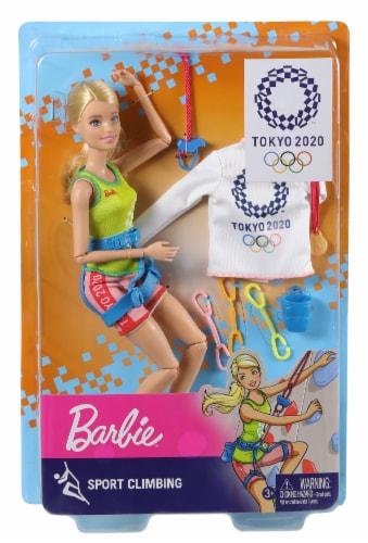 Mattel Barbie® Sport Climber Doll Set Perspective: back