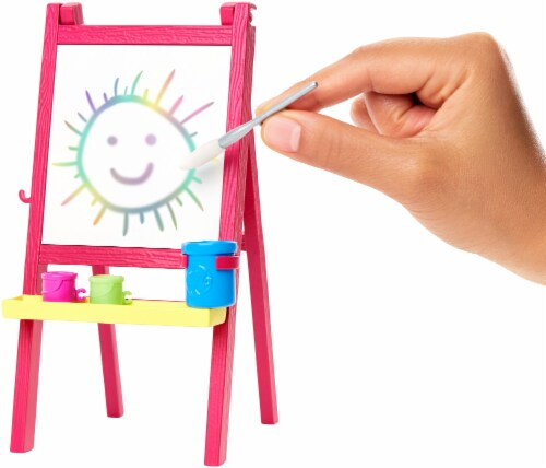 Mattel Barbie® You Can Be Anything Art Teacher Playset Perspective: back