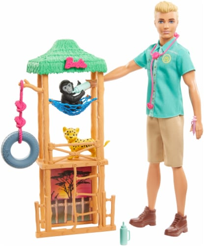 Mattel Barbie® Ken Wildlife Vet Perspective: back