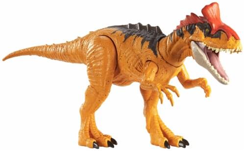 Mattel Jurassic World Sound Strike Cryolophosaurus Action Figure Perspective: back
