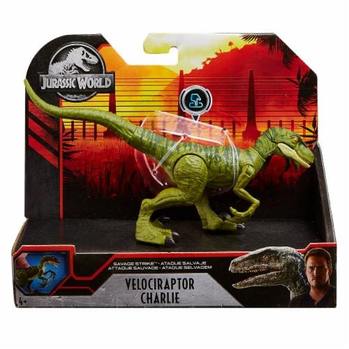 Mattel Jurassic World Savage Strike Dinosaur Figure - Assorted Perspective: back
