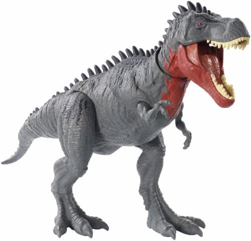 Mattel Jurassic World Total Control Tarbosaurus Perspective: back