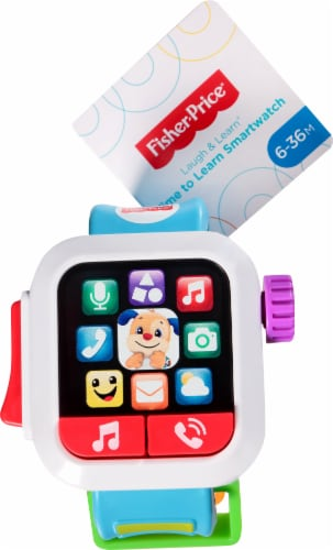 Fisher-Price® Laugh and Learn Time to Learn SmartWatch Perspective: back