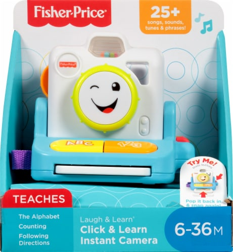Fisher-Price® Laugh & Learn Instant Camera Perspective: back