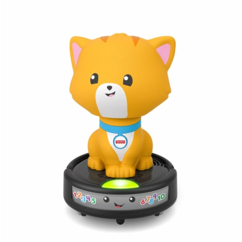 Fisher-Price® Laugh & Learn Crawl-After Cat On A Vac Toy Perspective: back