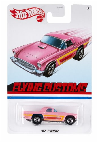 Mattel® Hot Wheels® Assorted Throwback Vehicles Perspective: back