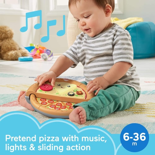 Fisher-Price Laugh & Learn Slice of Learning Pizza Perspective: back