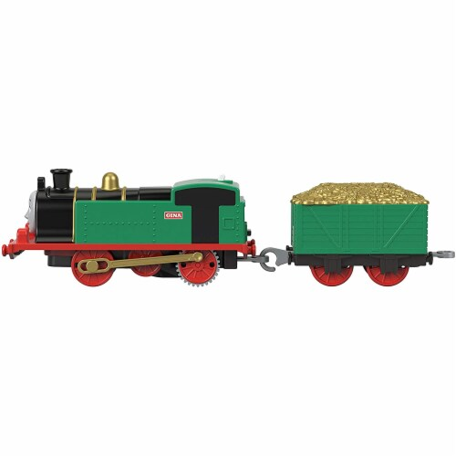 Thomas & Friends Fisher-Price Trackmaster Gina Motorized Toy Train Engine Perspective: back