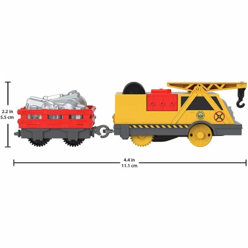 Thomas & Friends Fisher-Price Trackmaster Kevin Motorized Toy Train Engine Perspective: back