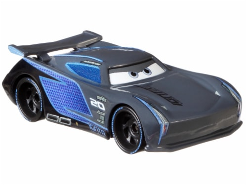 Disney Pixar Cars Jackson Storm & Paul Conrev Toy Racers Perspective: back