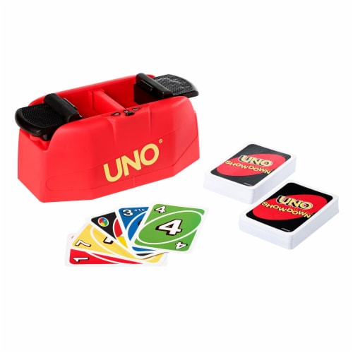 UNO Showdown Card Game Perspective: back