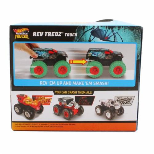 Mattel Hot Wheels® Rev Tredz Widow's Lair Monster Truck Perspective: back