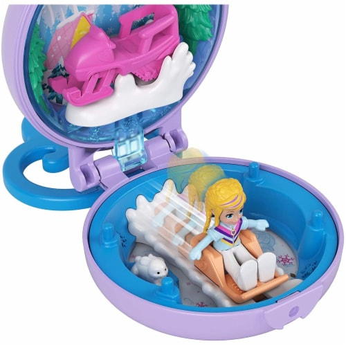 Mattel Polly Pocket Tiny Compact Playset - Assorted Perspective: back