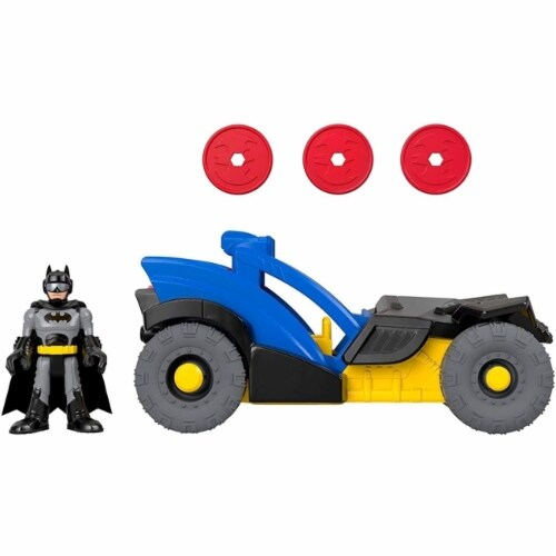 Fisher-Price® Imaginext DC Super Friends Batman Rally Car Perspective: back