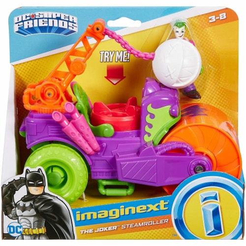 Fisher-Price® Imaginext DC Super Friends The Joker Steamroller Vehicle Perspective: back