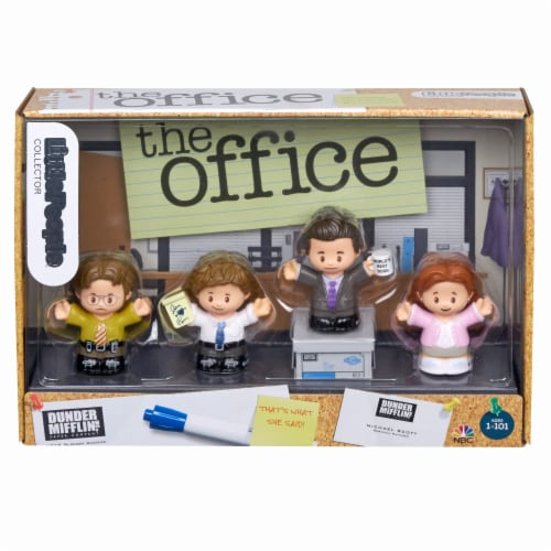 Fisher-Price® Little People The Office Collector Set Perspective: back