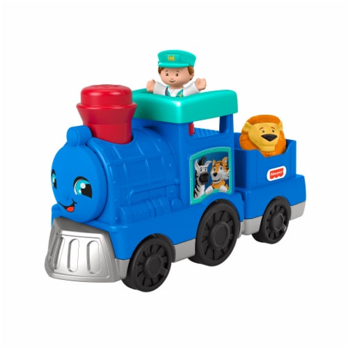 Fisher Price Little People Animal Train Set Perspective: back