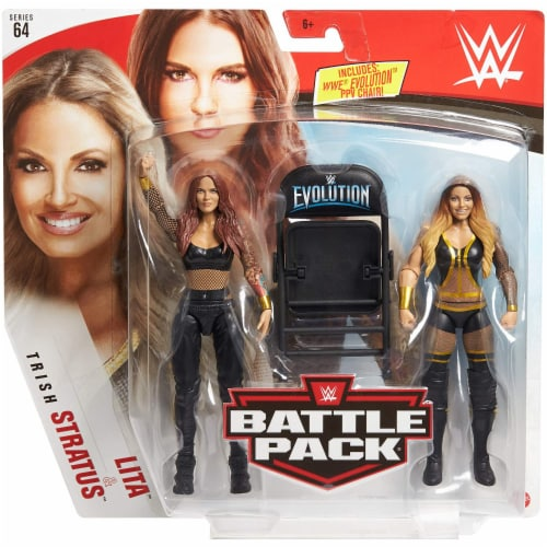 WWE Lita & Trish Stratus Battle Pack 2-Pack Perspective: back