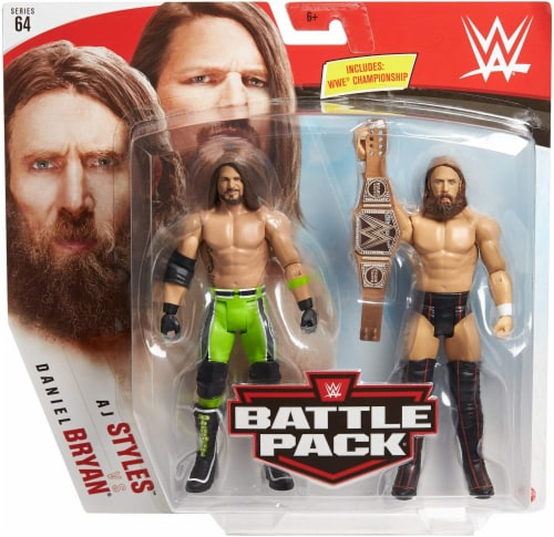WWE Daniel Bryan vs AJ Styles Battle Pack 2-Pack Perspective: back