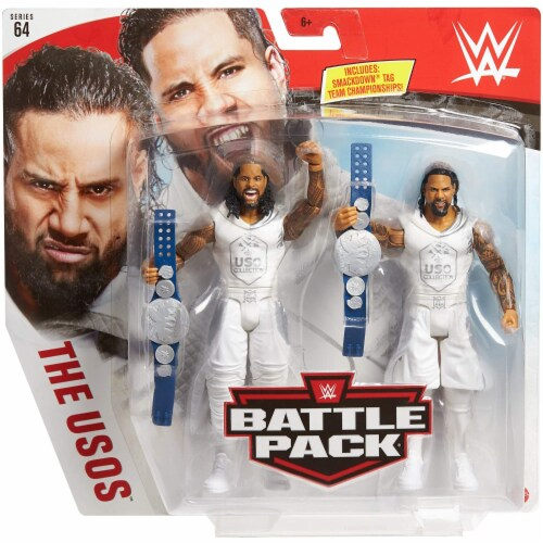 WWE The Usos Battle Pack 2-Pack Perspective: back