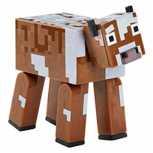 Minecraft Earth Cow Figure Perspective: back