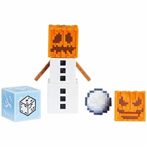 Minecraft Earth Snow Golem Figure Perspective: back