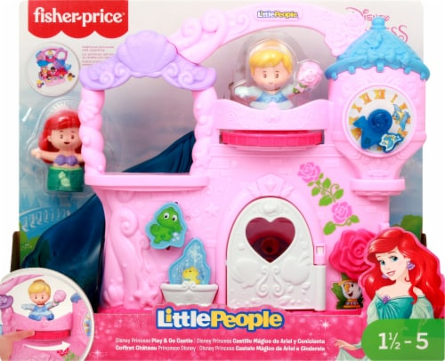 Fisher-Price® Disney Princess Little People Play and Go Castle Playset Perspective: back