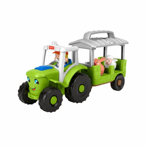 Fisher-Price® Little People Caring for Animals Tractor Perspective: back