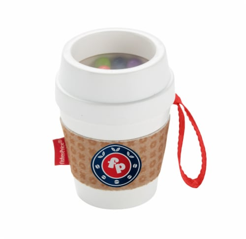 Fisher-Price® Coffee Cup Teether Perspective: back