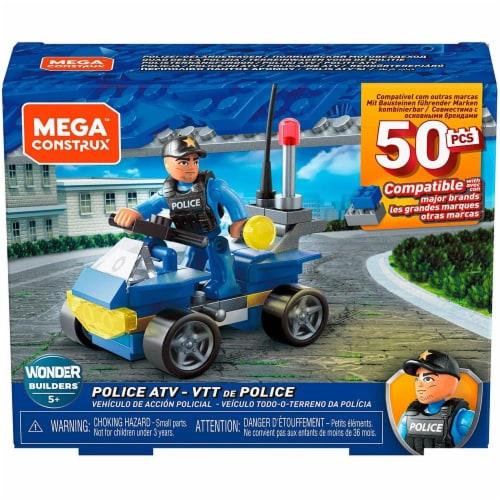 Mega Construx Wonder Builders, Police ATV (50 Pcs) Perspective: back