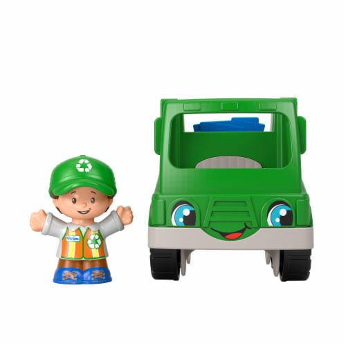 Fisher-Price Little People Recycle Truck Perspective: back