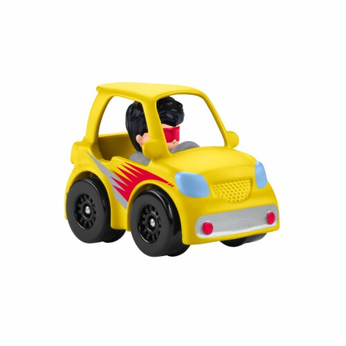 Fisher-Price® Little People Wheelies Micro Car Vehicle Perspective: back
