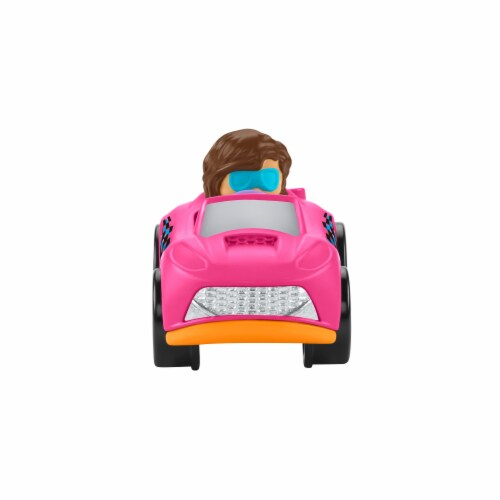 Fisher-Price® Little People Wheelies Roadster Vehicle Perspective: back
