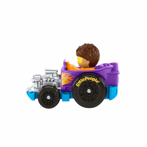 Fisher-Price® Little People Wheelies Hot Rod Vehicle Perspective: back