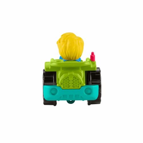Fisher-Price® Little People Wheelies Racing Tractor Vehicle Perspective: back