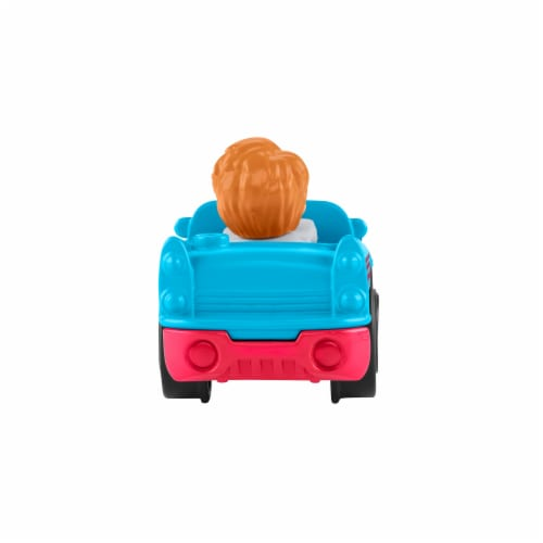 Fisher-Price® Little People Wheelies Retro Convertible Vehicle Perspective: back