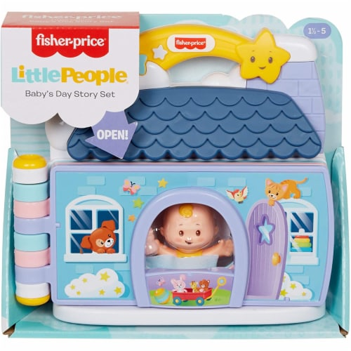 Fisher-Price® Little People Babys Day Story Set Perspective: back
