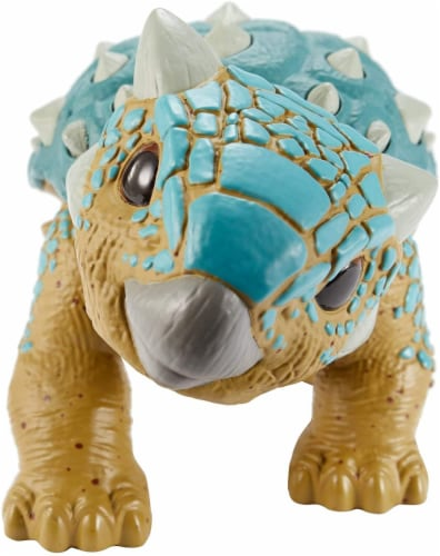 Jurassic World Attack Pack Dino Figure Perspective: back