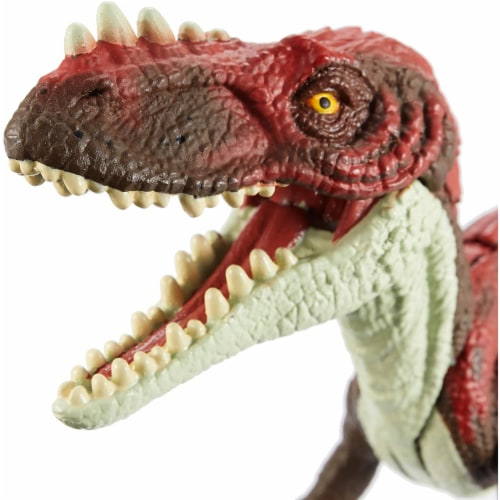 Jurassic World Attack Pack Alioramus Figure Perspective: back