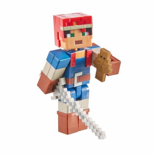 Mattel Minecraft Dungeons 325 Valorie Figure Perspective: back