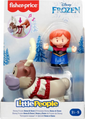 Fisher-Price® Little People Disney Frozen Anna and Sven Playset Perspective: back