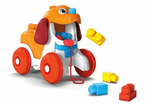 Mega Construx™ Mega Bloks Pull-Along Puppy Toy Perspective: back