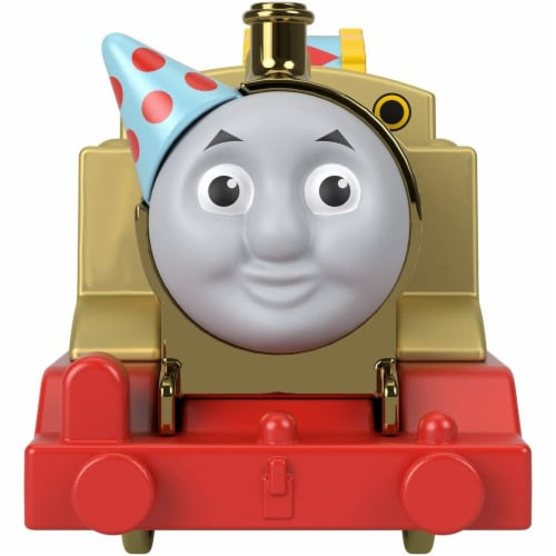 Thomas and Friends Golden Thomas Motorized Train Perspective: back