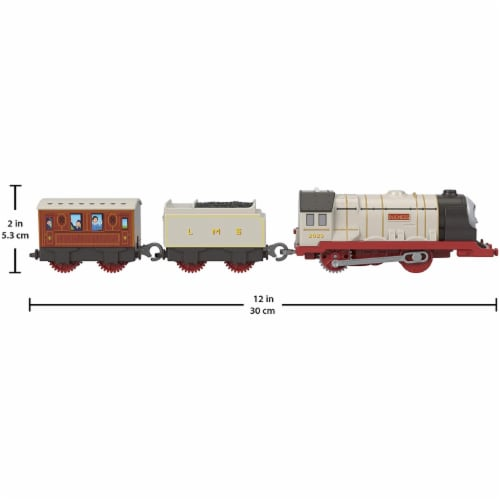 Thomas & Friends Fisher-Price Duchess Motorized Toy Train Perspective: back
