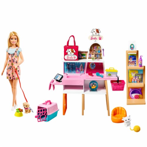 Mattel Barbie® Pet Boutique Playset Perspective: back